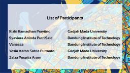 List of Participants - 3